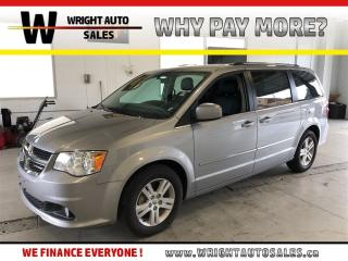 Used 2017 Dodge Grand Caravan Crew Plus|7 PASSENGER|LEATHER|74,920 KMS for sale in Cambridge, ON