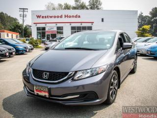 Used 2015 Honda Civic EX , Factory Warrenty until 2022 for sale in Port Moody, BC