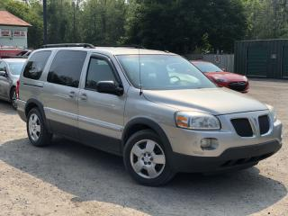 Used 2009 Pontiac Montana Sv6 Extended DVD 7-Pass Power Group A/C for sale in Newmarket, ON