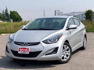 Used 2015 Hyundai Elantra GL|ACCIDENT FREE| FINANCING AVAILABLE for sale in Mississauga, ON