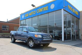 Used 2004 Toyota Tundra SR5 | DOUBLE CAB | 2WD | POWER WINDOWS | EVERYONE GETS FINANCED! for sale in Hamilton, ON