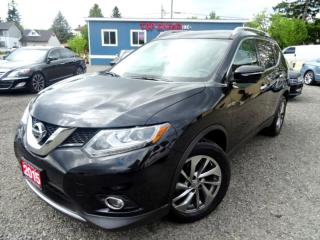 Used 2015 Nissan Rogue SL AWD/FULLY LOADED/ NAVI/LEATHER/PANO ROOF/CERTIFIED for sale in Guelph, ON