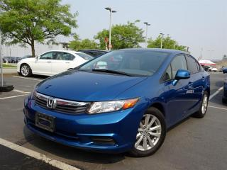 Used 2012 Honda Civic Sedan EX for sale in Richmond, BC