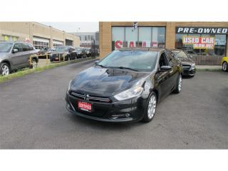 Used 2015 Dodge Dart Limited/NAVIGATION/B UP CAMERA for sale in North York, ON