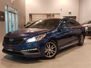 Used 2016 Hyundai Sonata LIMITED-NAVIGATION-LEATHER-PANO ROOF-ONLY 31KM for sale in York, ON