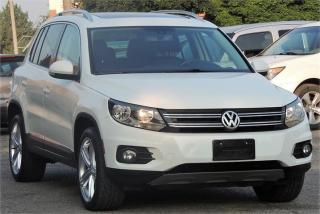 Used 2012 Volkswagen Tiguan Highline for sale in Etobicoke, ON