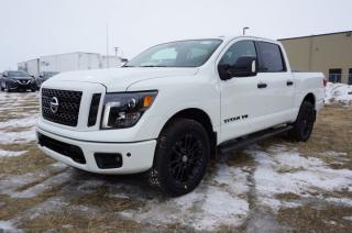 New 2018 Nissan Titan 4X4 MIDNIGHT CREW CA   - Edmonton Dealer for sale in Leduc, AB