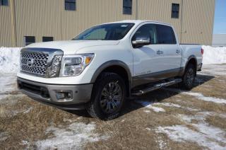 New 2018 Nissan Titan 4X4 PLATINUM CREW CA   - Edmonton Dealer for sale in Leduc, AB