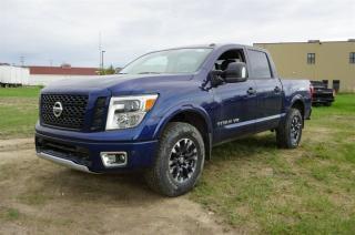 New 2018 Nissan Titan 4X4 PRO-4X CREW CAB   - Edmonton Dealer for sale in Leduc, AB