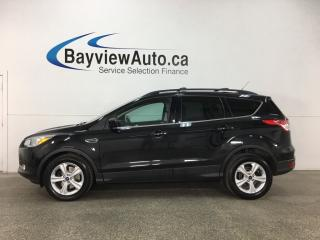 Used 2014 Ford Escape - ECOBOOST! KEYPAD! PANOROOF! HTD LTHR! SYNC! REVERSE CAM! for sale in Belleville, ON