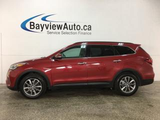 Used 2017 Hyundai Santa Fe XL Premium - ALLOYS! HTD STS! REVERSE CAM! BSD! PWR LIFTGATE! for sale in Belleville, ON