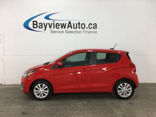 Used 2016 Chevrolet Spark 1LT CVT - AUTO! ALLOYS! A/C! WIFI! MY LINK! REVERSE CAM! for sale in Belleville, ON