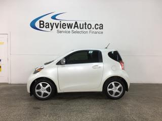 Used 2015 Scion iQ Base - AUTO! A/C! BLUETOOTH! GAS BUDDY! PWR GROUP! for sale in Belleville, ON