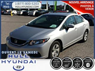 Used 2015 Honda Civic Lx A/c Et Sieges for sale in Gatineau, QC