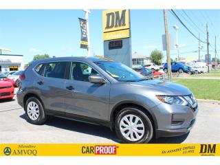 Used 2018 Nissan Rogue S ** 6 000 KM ** CAMERA RECUL SIEGES CHAUFFANTS for sale in Salaberry-de-Valleyfield, QC