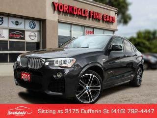 Used 2016 BMW X4 xDrive35i M Sport, Navigation, Camera, Collision Warning for sale in Toronto, ON