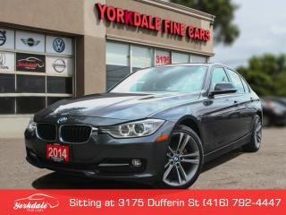 Used 2014 BMW 320i xDrive Sport Line, Navigation, Roof, No Accidents for sale in Toronto, ON