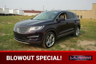 Used 2015 Lincoln MKC AWD PREMIUM Accident Free,  Navigation (GPS),  Leather,  Heated Seats,  Panoramic Roof,  Back-up Cam for sale in Leduc, AB