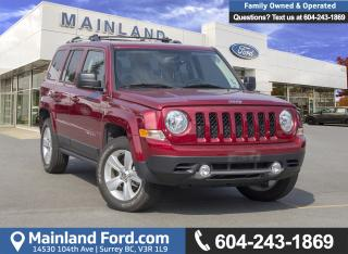 Used 2017 Jeep Patriot Sport/North *ACCIDENT FREE* *LOCALLY DRIVEN* for sale in Surrey, BC