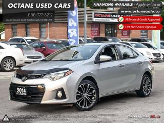 Used 2014 Toyota Corolla S for sale in Scarborough, ON