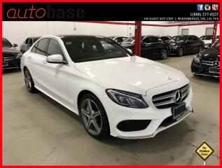 Used 2015 Mercedes-Benz C-Class C300 4MATIC PREMIUM PLUS BURMESTER SPORT for sale in Woodbridge, ON