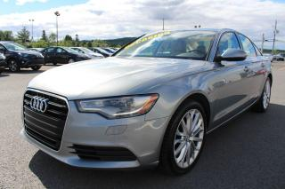 Used 2012 Audi A6 3.0T Premium Plus for sale in St-Basile-le-Grand, QC
