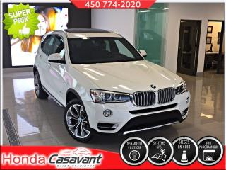 Used 2017 BMW X3 xDrive28i for sale in St-Hyacinthe, QC