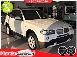 Used 2010 BMW X3 XDRIVE 28I for sale in St-Hyacinthe, QC