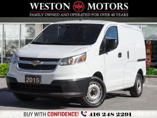 Used 2015 Chevrolet City Express CITY EXPRESS*LT*CARGO*POWER GROUP*AMAZING SHAPE!!* for sale in Toronto, ON