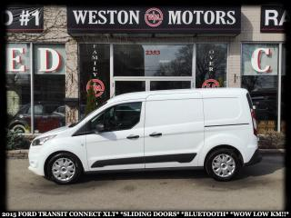 Used 2015 Ford Transit Connect XLT*SLIDING DOORS*BLUETOOTH*WOW LOW KM!!* for sale in York, ON