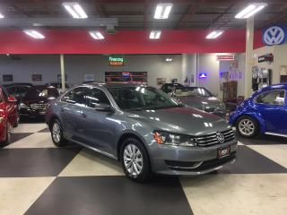Used 2015 Volkswagen Passat 1.8 TSI TRENDLINE AUT0 A/C CRUISE H/SEATS 108K for sale in North York, ON