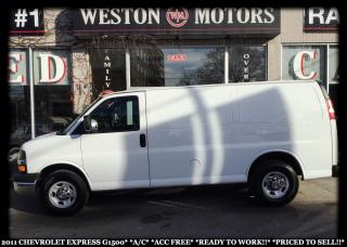 Used 2011 Chevrolet Express 1500 A/C*ACCIDENT FREE*READY TO WORK*PRICED TO SELL!!* for sale in York, ON