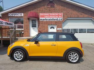 Used 2015 MINI Cooper S S 6 spd Turbo Pano Roof Bluetooth LOADED for sale in Bowmanville, ON