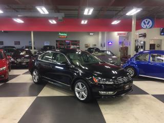 Used 2015 Volkswagen Passat 3.6L HIGHLINE AUT0 NAVI REAR CAMERA LEATHER 49K for sale in North York, ON