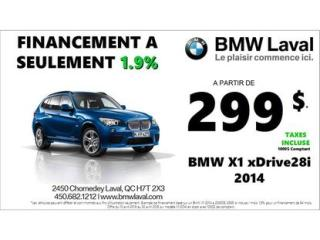 Used 2014 BMW X1 Xdrive28i Grp De Luxe for sale in Montreal, QC