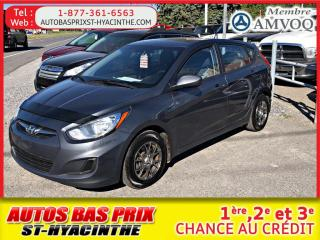 Used 2013 Hyundai Accent GL for sale in St-Hyacinthe, QC