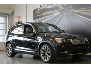 Used 2015 BMW X3 Xdrive28i Grp De Luxe for sale in Montreal, QC
