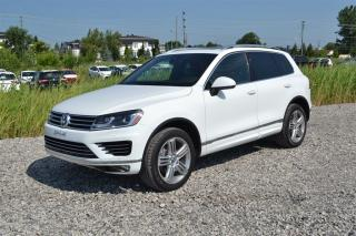 Used 2017 Volkswagen Touareg Execline R-Line for sale in Charlemagne, QC