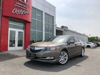 Used 2014 Acura RLX Tech Pkg for sale in Victoriaville, QC