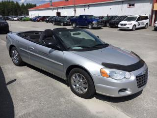 Used 2004 Chrysler Sebring Gtc Décapotable Bas for sale in Val-D'or, QC