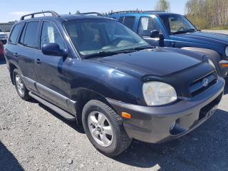Used 2005 Hyundai Santa Fe GL for sale in Val-D'or, QC
