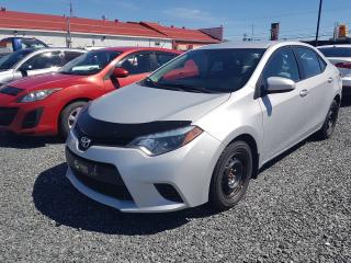 Used 2014 Toyota Corolla LE PNEUS HIVER for sale in Val-D'or, QC