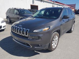 Used 2017 Jeep Cherokee Limited DIRECTEMENT D'L'ENCAN! for sale in Val-D'or, QC