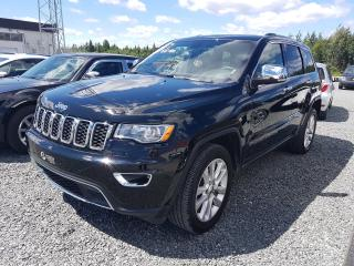 Used 2017 Jeep Grand Cherokee Limited for sale in Val-D'or, QC