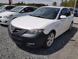 Used 2008 Mazda MAZDA3 PNEUS HIVER for sale in Val-D'or, QC