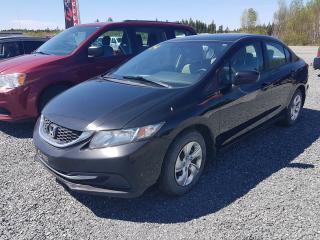 Used 2014 Honda Civic LX PNEUS HIVER ET ETE for sale in Val-D'or, QC