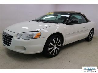 Used 2004 Chrysler Sebring Limited  for sale in Ste-Foy, QC