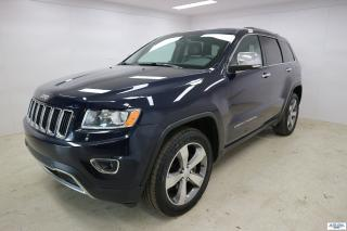 Used 2015 Jeep Grand Cherokee Limited 4X4 AWD NAVIGATION BLUETOOTH for sale in Ste-Foy, QC