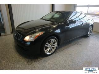 Used 2010 Infiniti G Coupe 37x Premium 4x4 Awd for sale in Ste-Foy, QC