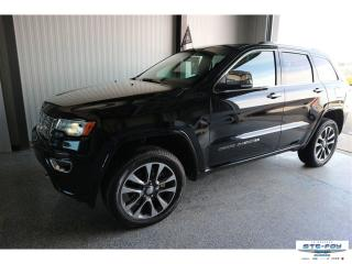 Used 2018 Jeep Grand Cherokee Overland 4x4 Awd V6 for sale in Ste-Foy, QC